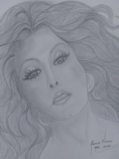Diana Ross por Vinna